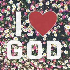 Магнит i love God