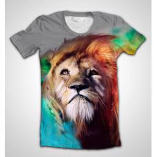 Футболка sight of a lion