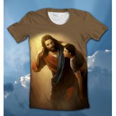 Футболка Jesus helps