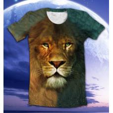 футболка lion of Narnia