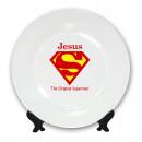 Тарелка superman